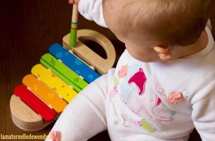 Activité pour bébé 2 ans