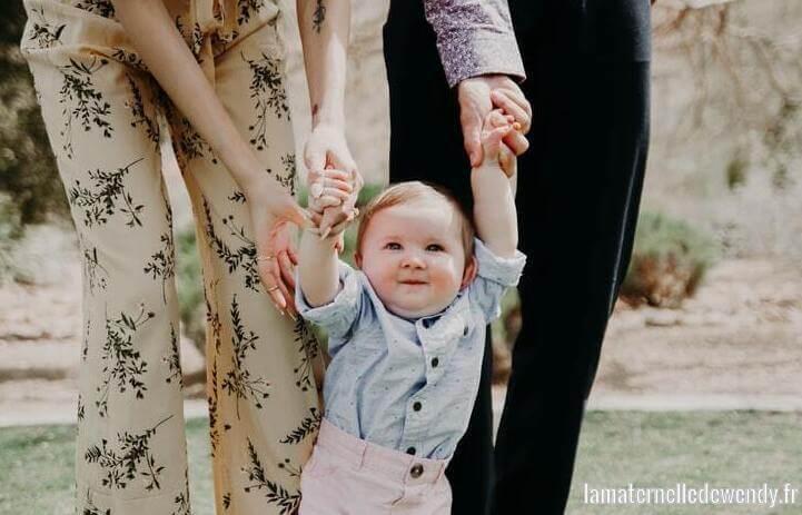 Jouet pour apprendre à marcher bébé