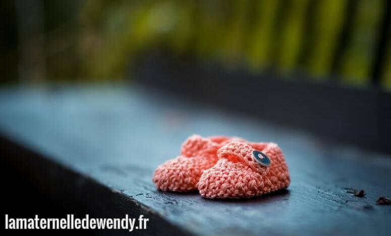 chaussons cuir bébé fabrication française